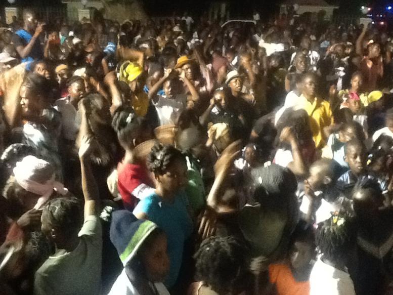 Crusade in Haiti